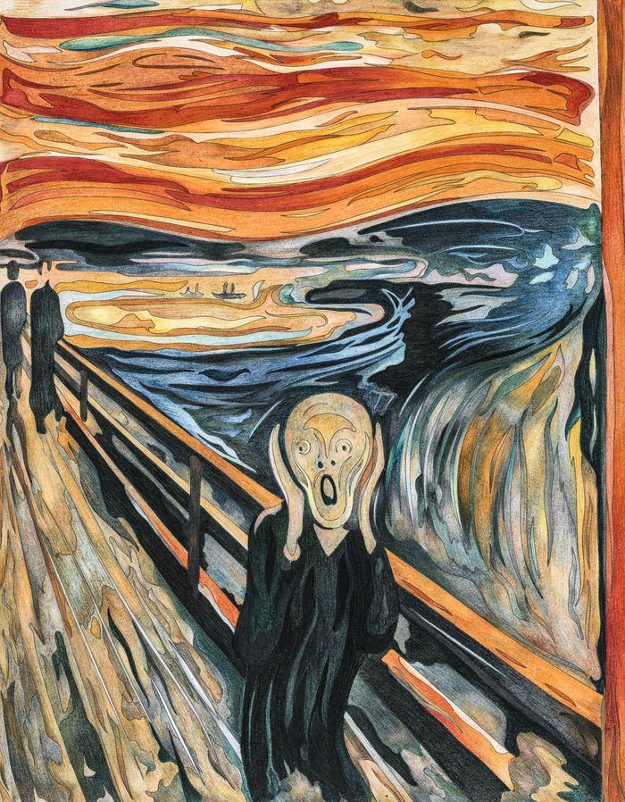эдвард мунк крик